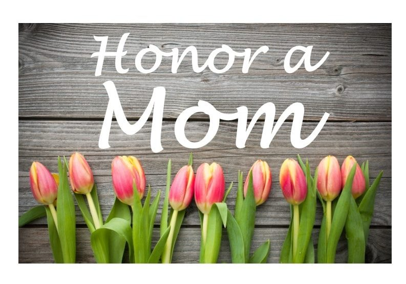 Mother's Day appeal graphic